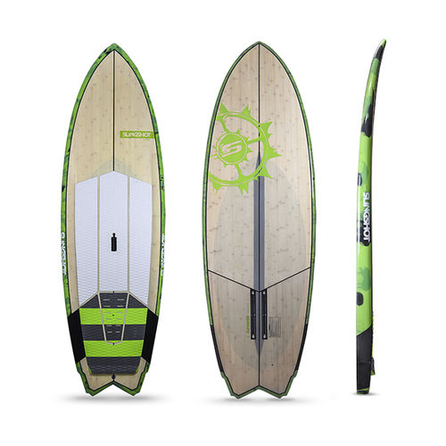 prancha de stand-up paddle allround / em bambu / em carbono