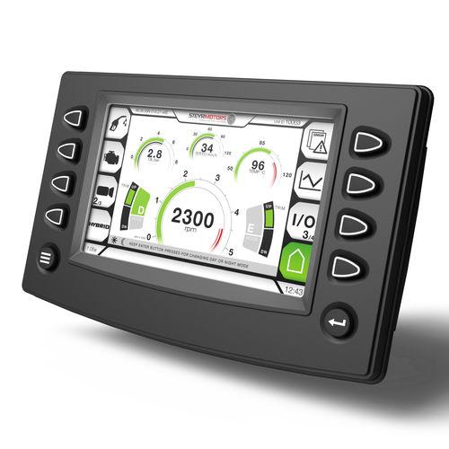monitor para motor / para barco / multifuncional / de controle