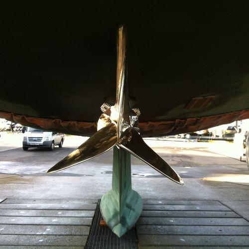 hélice para veleiro
