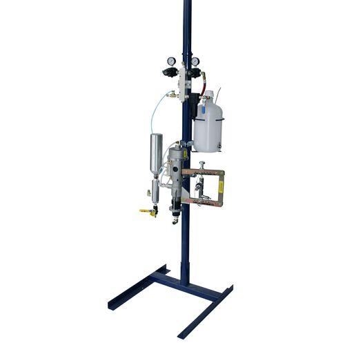 máquina de projeção de resina / simultânea / para estaleiro naval