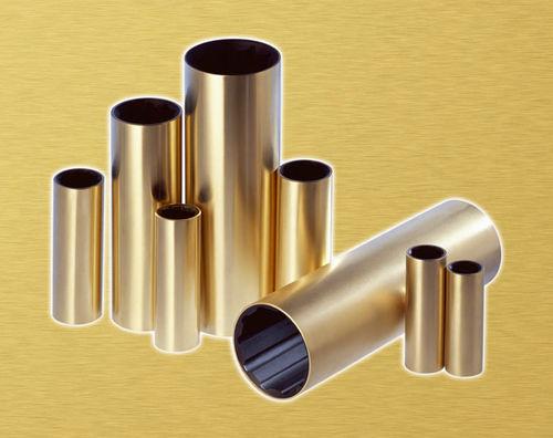 bucha lubrificada com água em bronze / para eixo propulsor