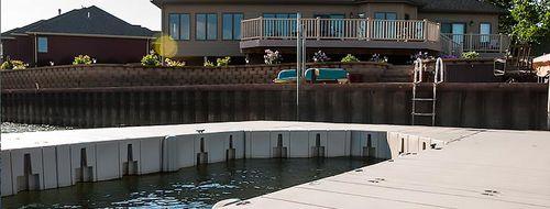 píer modular / flutuante / de atracação / para marina