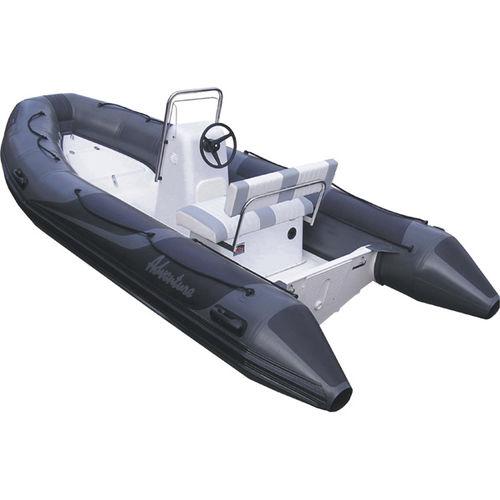 barco inflável com motor de popa / semirrígido / com console central / máx. 6 pessoas