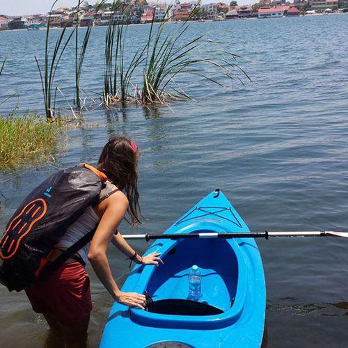 mochila multiusos / para canoas e caiaques / para veleiro / impermeável