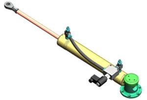atuador para barco / de dupla ação / para sistema hidráulico / sob medida
