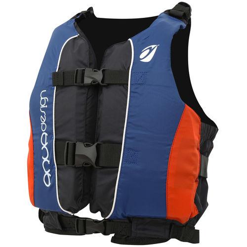 colete auxiliar de flutuação para esportes náuticos / para canoas e caiaques / para vela ligeira / unissexo
