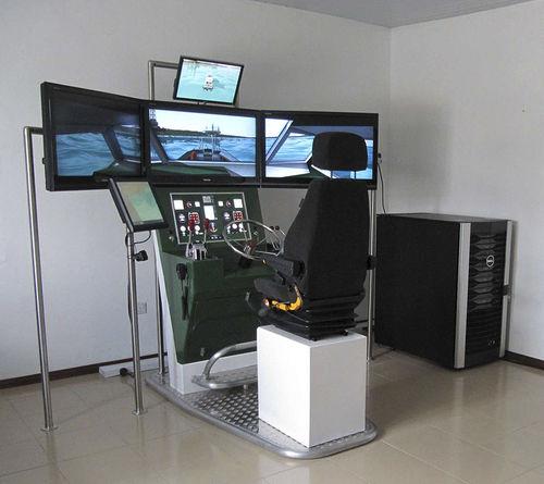 simulador de navegação / para barco