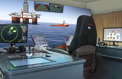 simulador de navegação