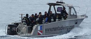 barco profissional barco auxiliar para mergulho