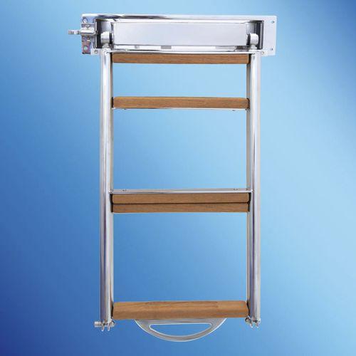escada para barco / para iate / retrátil / de banhos