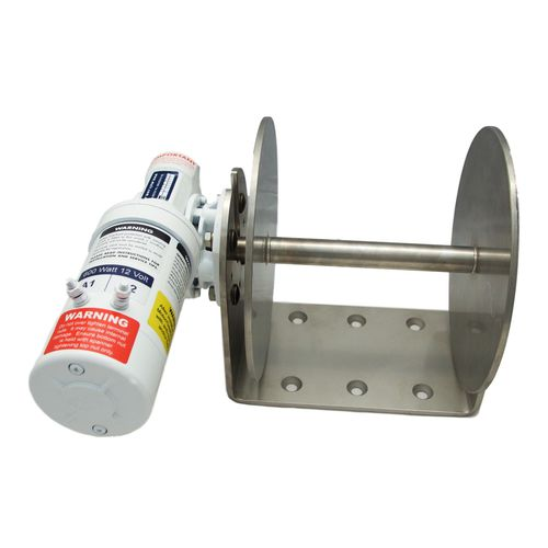 guincho para barco / para manuseio de âncora / elétrico / de tambor simples