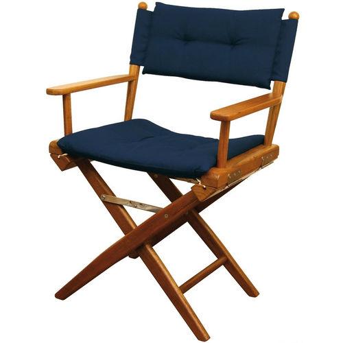 cadeira para barco / dobrável / em teca