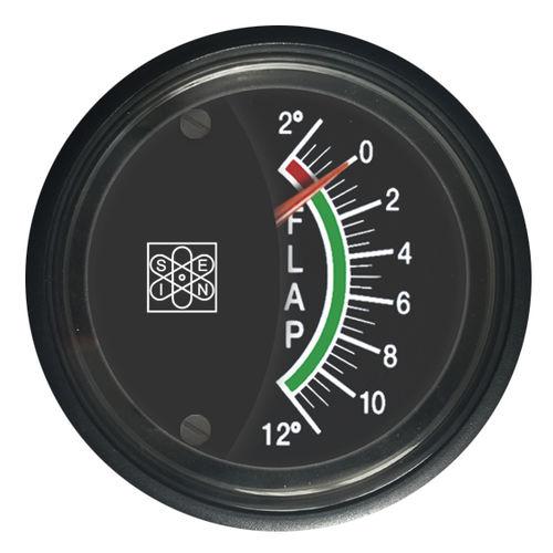 indicador para barco / de posição do flap / analógico