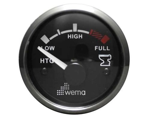 indicador para barco / de nível / analógico / para tanque de águas residuais