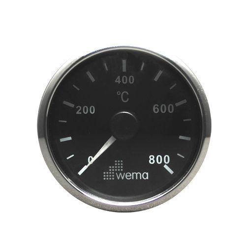 indicador para barco / de temperatura dos gases de escape / analógico
