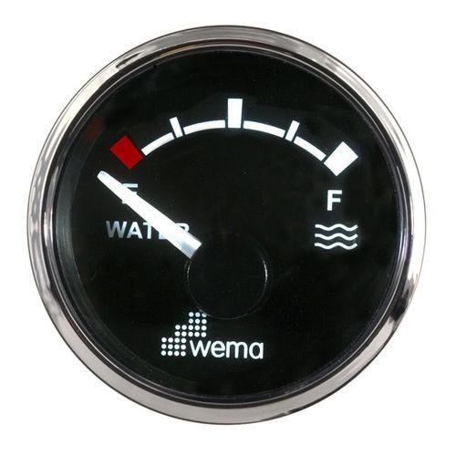 indicador para barco / de nível / analógico / para tanque de água