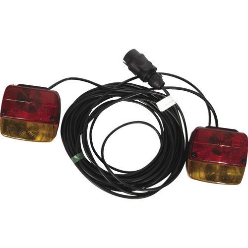 luminária para ambiente externo / para carreta de barco / de LED