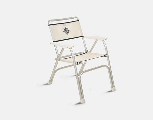 cadeira para barco / para iate / com braços / dobrável