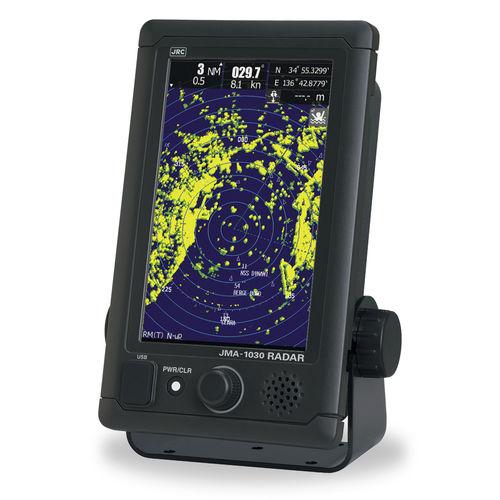 radar para navio / MARPA / tela sensível ao toque