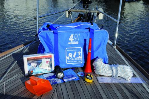 kit de salvamento para barco