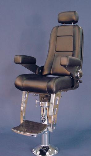 assento de piloto / para barco / com braços / ajustável