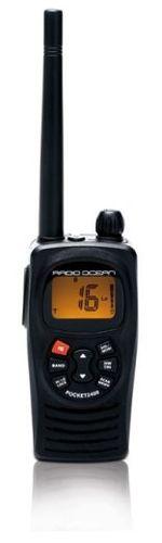 rádio para barco / portátil / VHF / IPX4