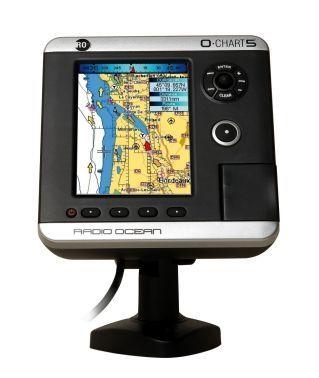 GPS / leitor de cartões / náutico / em cores