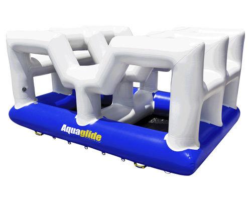 equipamento de diversão aquática barreira
