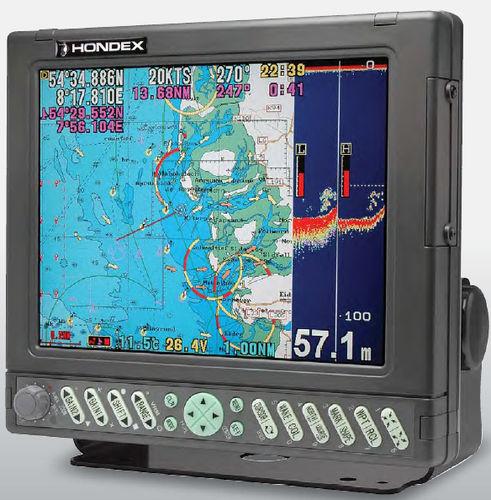 GPS / leitor de cartões / sonar de pesca / para navio