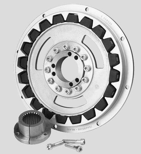 acoplamento mecânico rígido / para barco / para eixo de transmissão