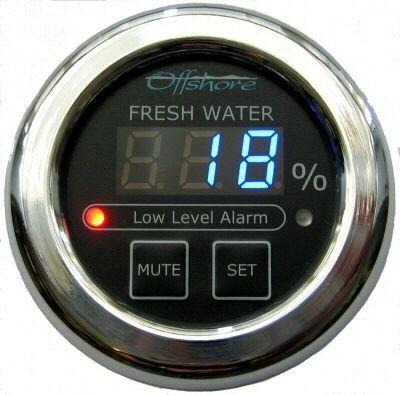 indicador de nível / para barco / digital / para tanque de água