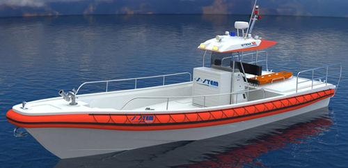 barco-patrulha / barco de trabalho / barco de passageiros / barco salva-vidas