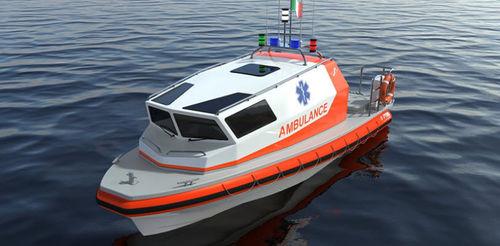 barco profissional barco de trabalho / barco de passageiros / barco salva-vidas / barco para transporte de tripulação