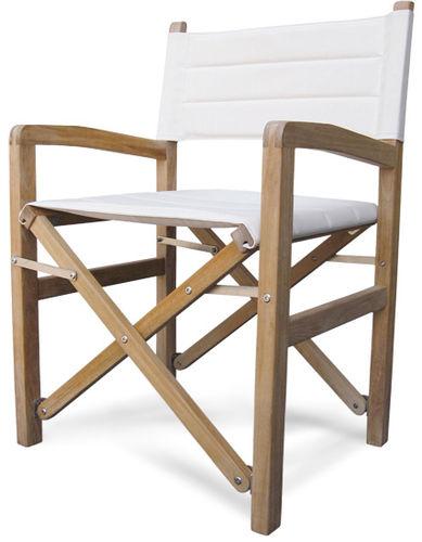 cadeira estilo diretor de cinema para iate