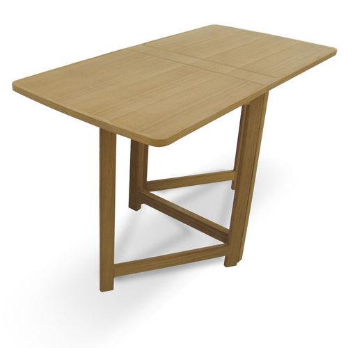 mesa de apoio para barco / dobrável / em teca