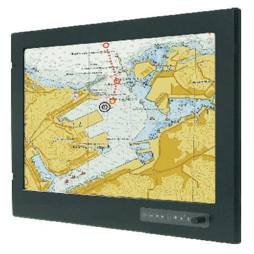 monitor náutico / multifuncional / PC / de controle