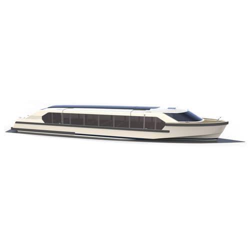 barco de passeio / barco salva-vidas / barco de desembarque / elétrico