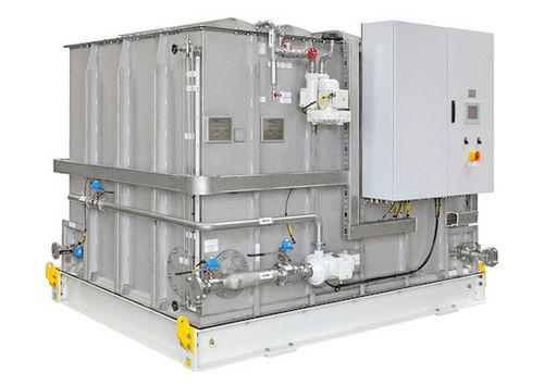 tanque de águas residuais / para navio / triturador / com bomba de transferência