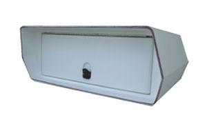 caixa organizadora para T-top / para barco / em fibra de vidro
