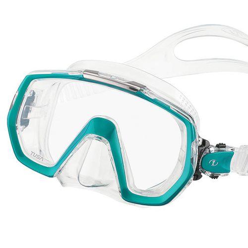 máscara de mergulho de lente única
