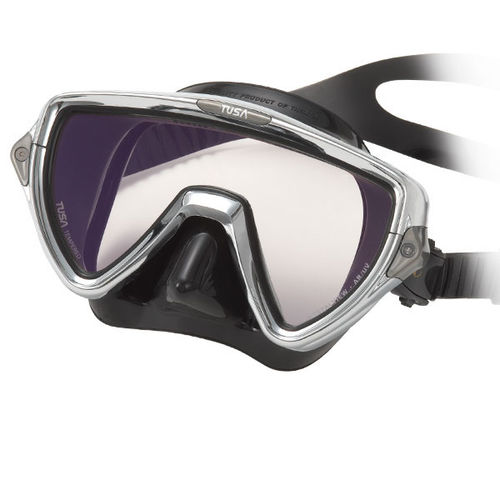 máscara de mergulho de lente única / anti-UV / antirreflexo