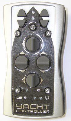 controle remoto de motor / para barco / para iate / sem fio