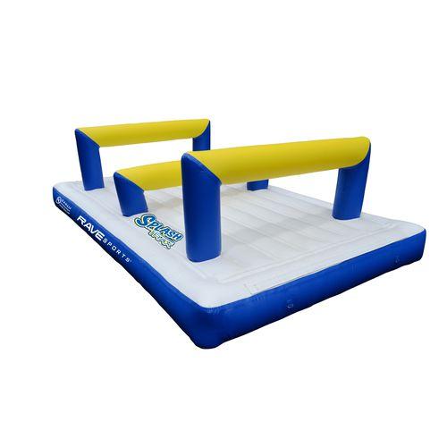 equipamento de diversão aquática salto em altura