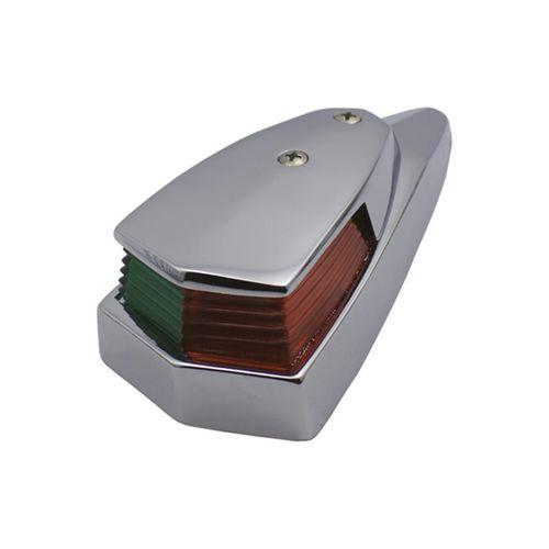 luz de navegação para barco / para lâmpada incandescente / vermelha / verde