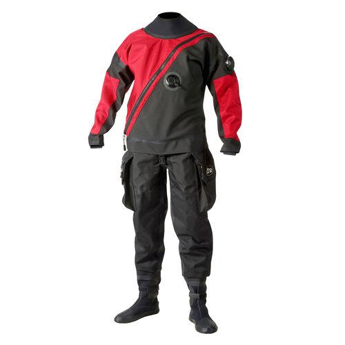 roupa completa de mergulho / para uso profissional / roupa seca / em peça única