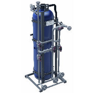 sistema de tratamento água potável / para navio / por osmose reversa