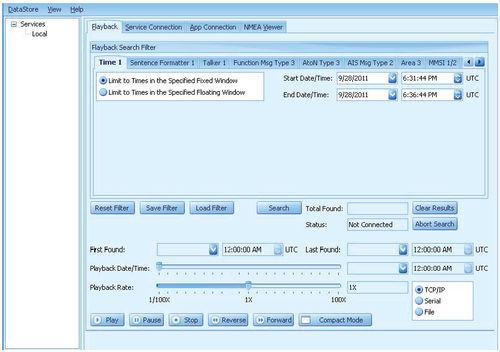 software de monitoramento / de acompanhamento / AIS / para navio