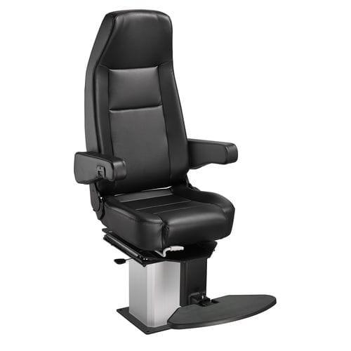 assento de operador / para navio / com encosto alto / ajustável