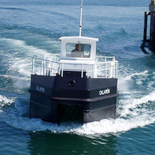 barco profissional barco recolhedor de hidrocarbonetos / com motor de centro