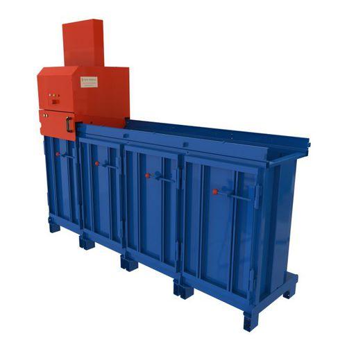 compactador de resíduos para navio